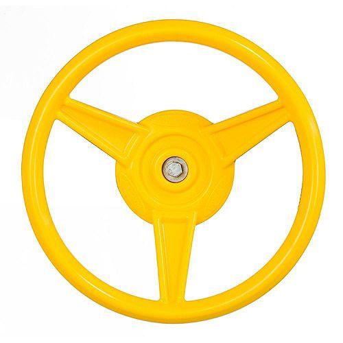 Yellow Play Steering Wheel