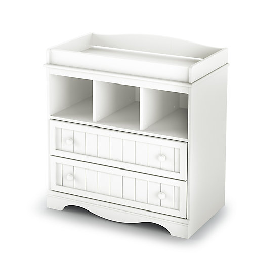Savannah Changing Table, Pure White