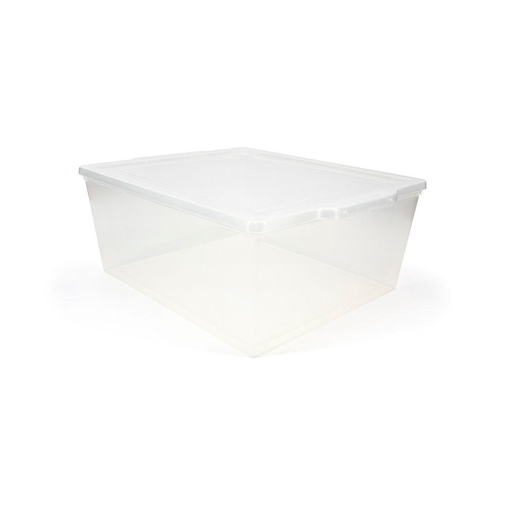 Tuff Store 19.4L Clear Utility Box