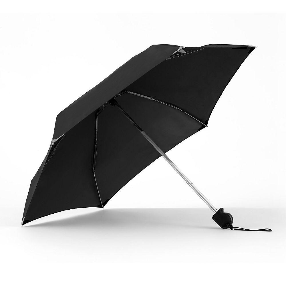 Walk Safe Miniparapluie WalkSafe avec tissu réfléchissant et à ouverture manuelle no1305