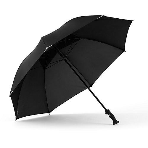 Parapluie pour le golf WalkSafe avec tissu réfléchissant et ouverture daération