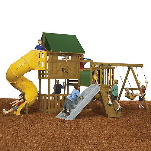 Playstar Great Escape Ready to Assemble Gold Playset