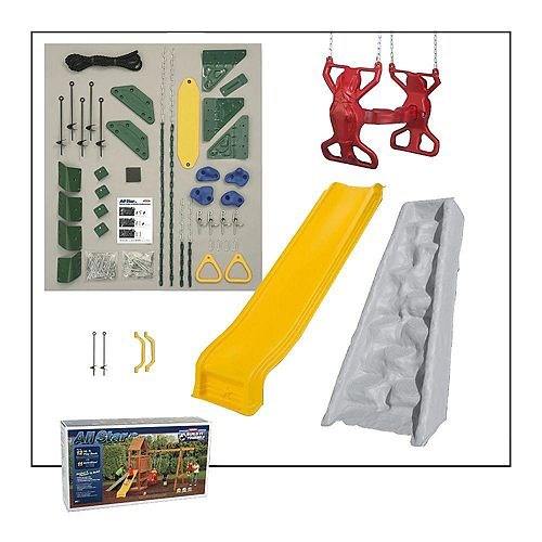 All Star Build-It-Yourself Silver Playset