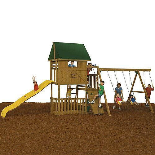 Playstar Great Escape Ready to Assemble Starter Playset