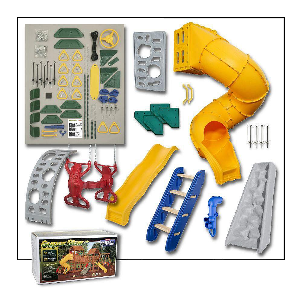 Playstar Super Star Build-It-Yourself Gold Playset