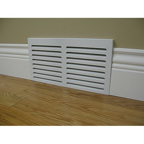 Primed cold air wall vent