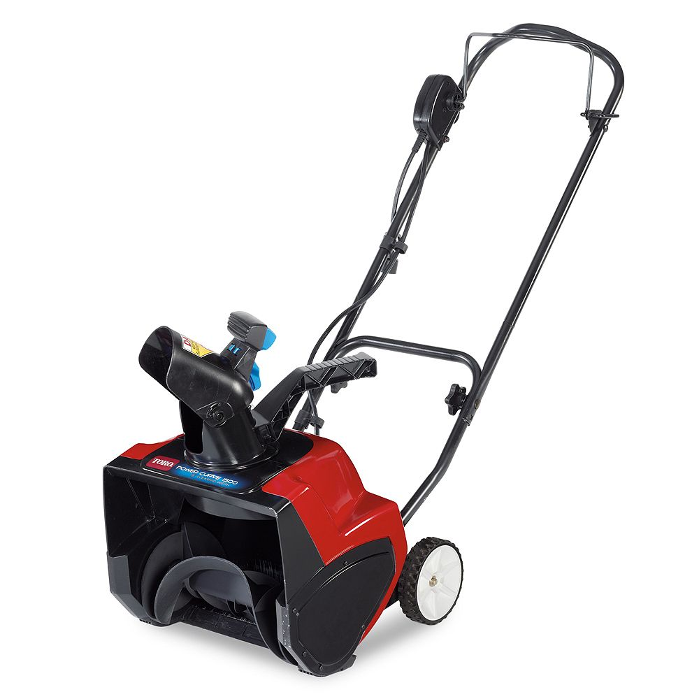 Toro 1500 Electric Power Curve Snowblower with 15-inch Clearing Width