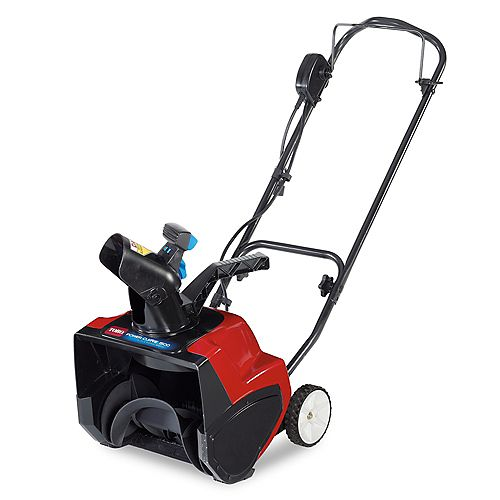 1500 Electric Power Curve Snowblower with 15-inch Clearing Width