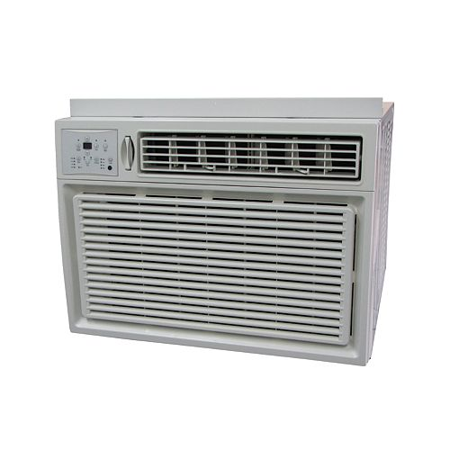 15,000 BTU Window Air Conditioner with Remote and Timer