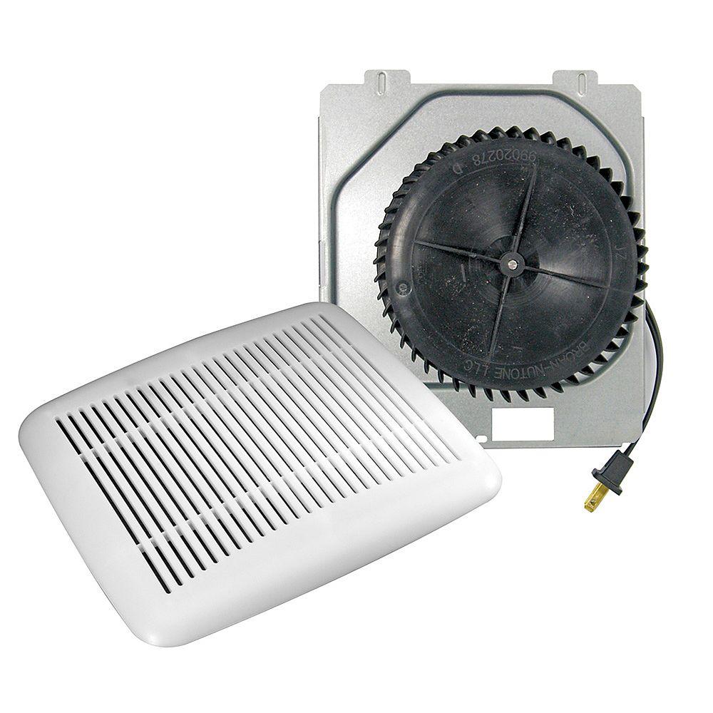 Nutone 60 CFM, 3 Sones 10 Minute Bath Fan Upgrade Kit ...