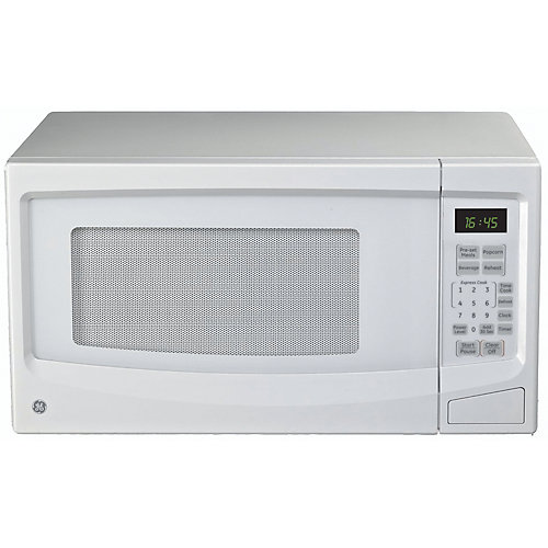 1.1 cu. ft. Countertop Microwave Oven in White
