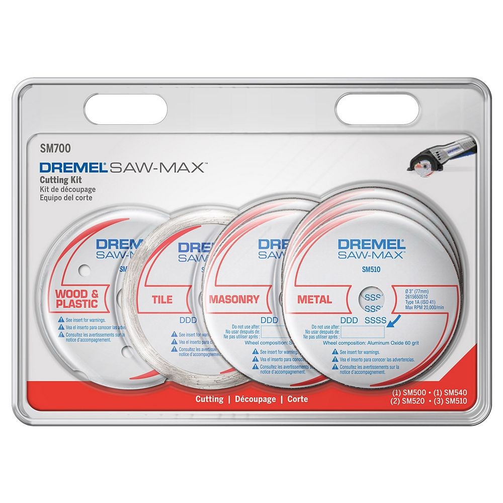 Dremel Saw-Max Cutting Kit, (7-Piece)