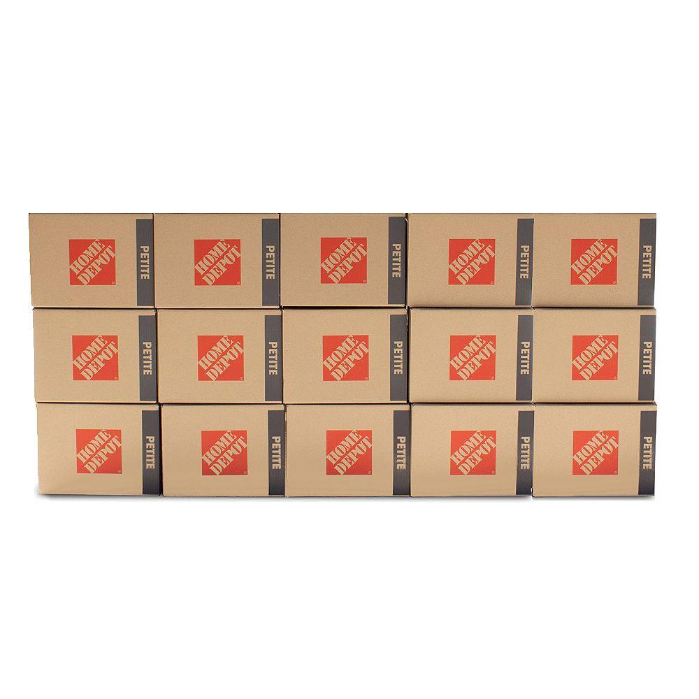 The Home Depot Offre groupée de petites boîtes de 15 boîtes
