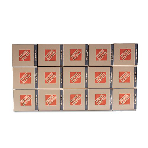 The Home Depot 15 Box Medium Box Bundle