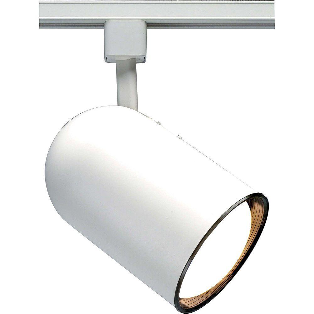 Glomar Appareil d'éclairage à une ampoule avec , Fini blanc