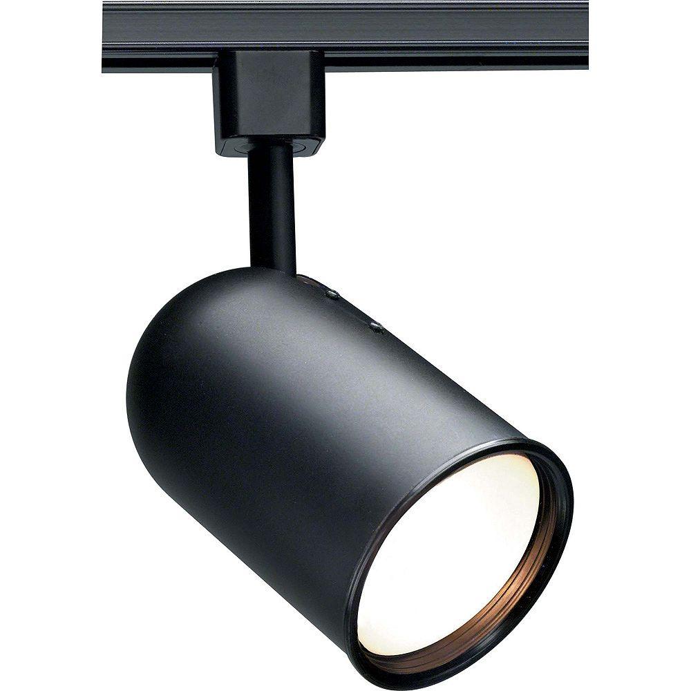 Glomar Appareil d'éclairage à une ampoule avec , Fini noir