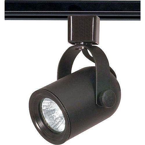 Appareil d'éclairage à une ampoule avec , Fini noir