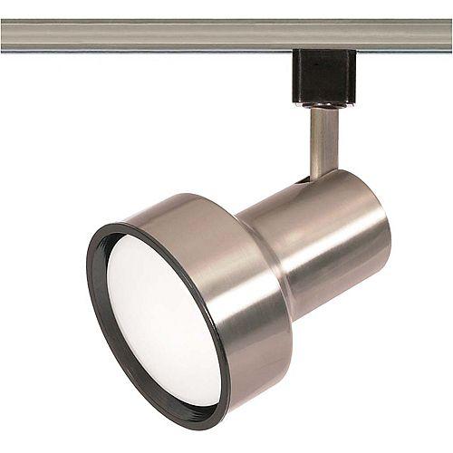 1 Lumière Compact lampes fluorescentes R30 étape Track culasse termine en Nickel brossé