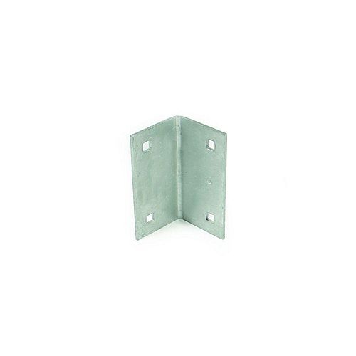 Commercial Grade Dock Joist Corner Bracket with Marine Grade Galvanized Finish