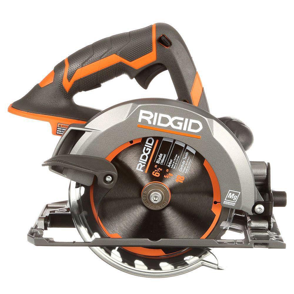 Ridgid 18v X4 Circular Saw Console The Home Depot Canada