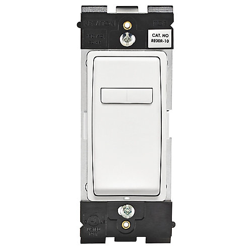 Coordinating Dimmer Remote (Wallplate not Included) in White