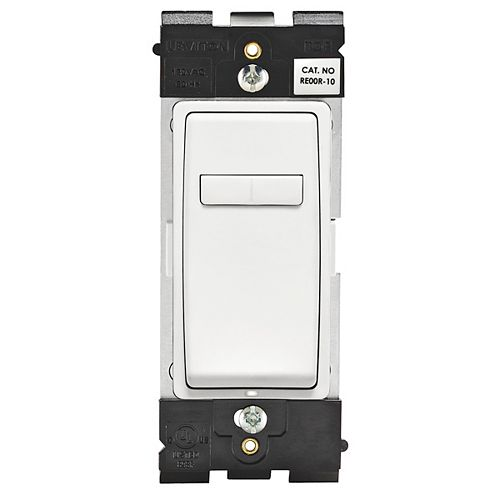 Renu Coordinating Dimmer Remote (Wallplate not Included) in White