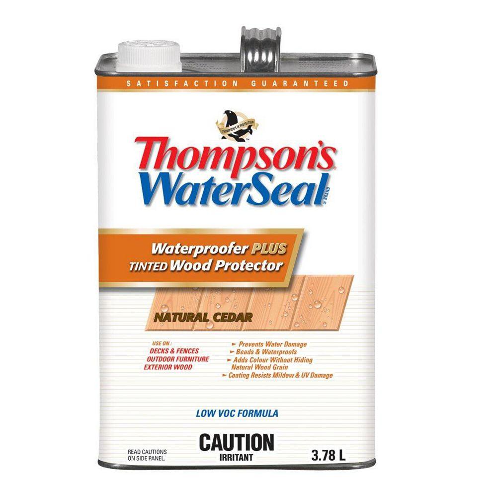 Thompson's WaterSeal Waterproofer Plus Cedar