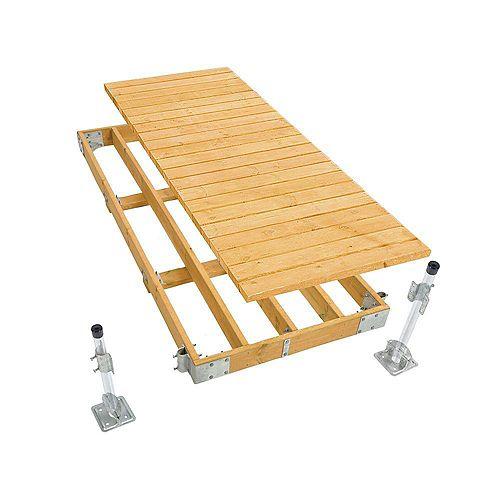 4 ft. x 10 ft. Commercial Grade Stationary Dock Kit