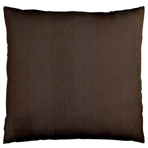 Indoor/Outdoor Cushions in Chocolate