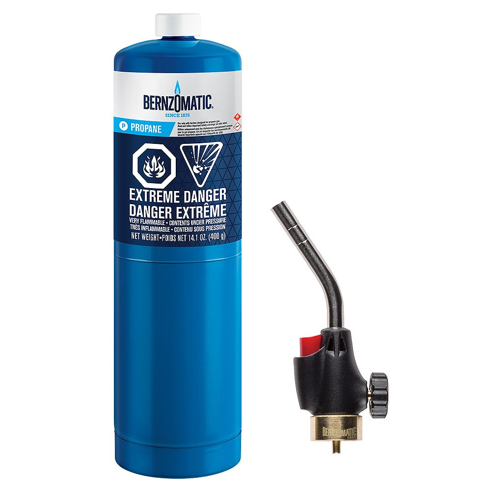 Bernzomatic WK2301 Propane Torch Kit
