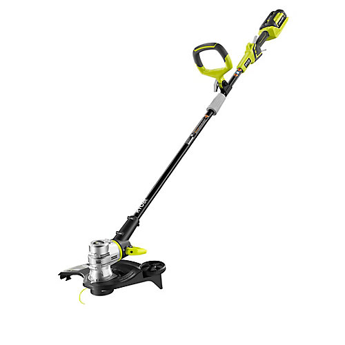 40V Lithium-Ion Cordless String Trimmer/Edger with 2.6 Ah Battery and Charger