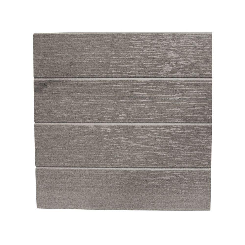 Eon 12 Pi. - Revêtement de Bordure Grey (cintres requis) - 12 Po.