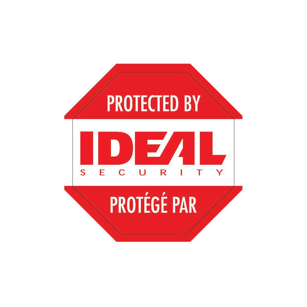 Ideal Security Autocollants d'Avertissement de Sécurité