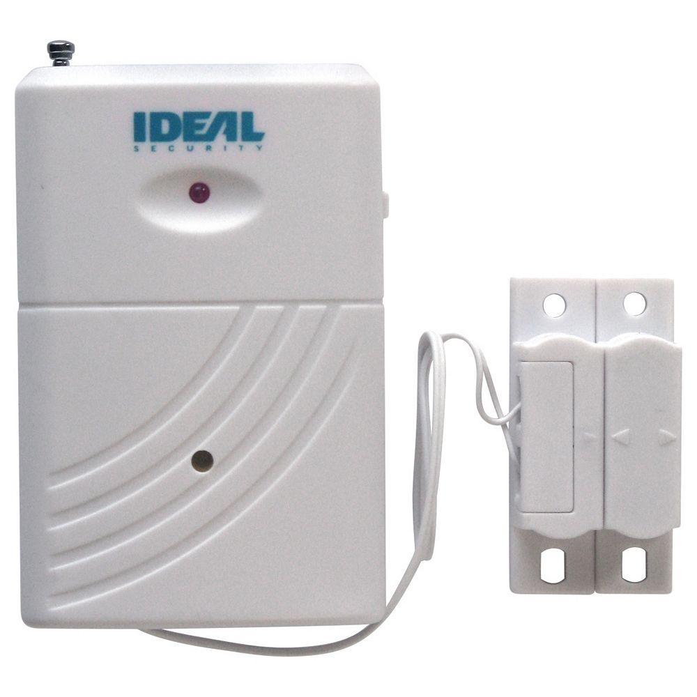 Ideal Security Capteur et Alarme pour Porte ou Fenêtre, sans Fil