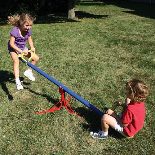 Balançoire à bascule rotative