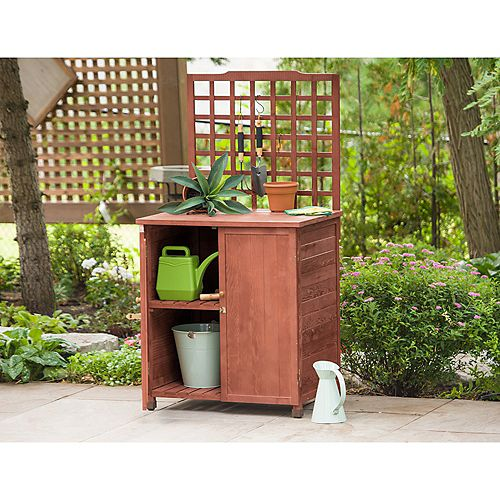 Potting Table with Storage