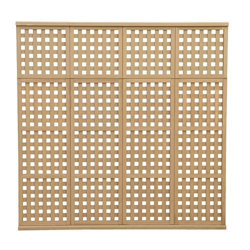78.5 inch x 77.5 inch 4 High Privacy Lattice Panel