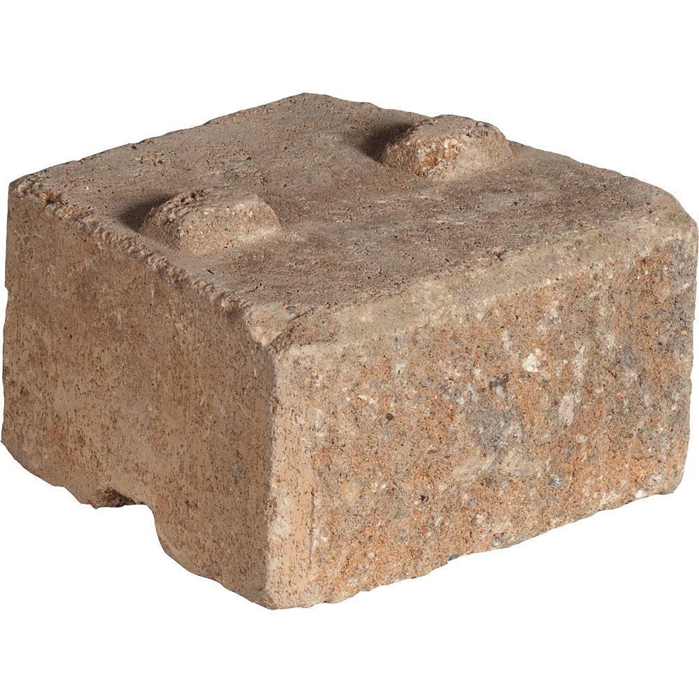 Shaw Brick 8-inch x W 7-inch L  Chamois/Charcoal Antique Wedgestone
