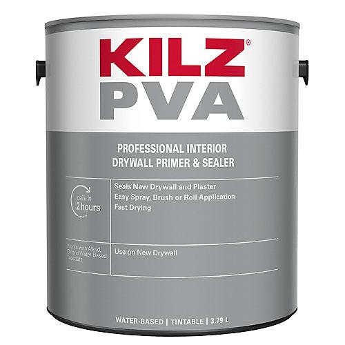 PVA - Apprêt intérieur pour placoplâtre - 3,79 L