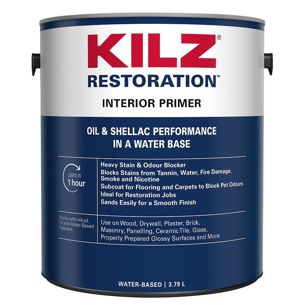 Kilz Restoration Interior Primer 3 79 L The Home Depot Canada