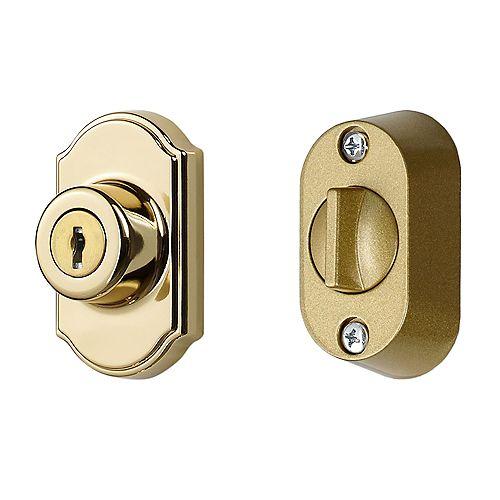 Ideal Security Brass Keyed Deadbolt