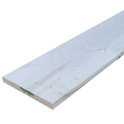 1-inch x 8-inch x 14-ft SPF #3 Lumber