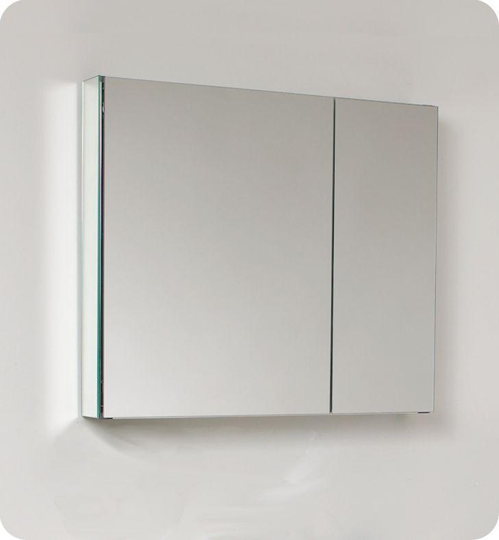 30 Inch W Bathroom Medicine Cabinet With Mirrors