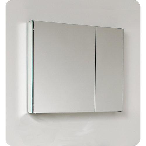 Armoire À Pharmacie 30 po De Large Avec Miroirs