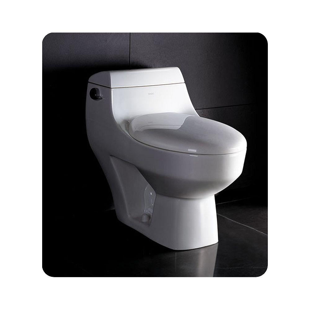 Fresca Columbia Toilette monopièce avec siège à fermeture lente