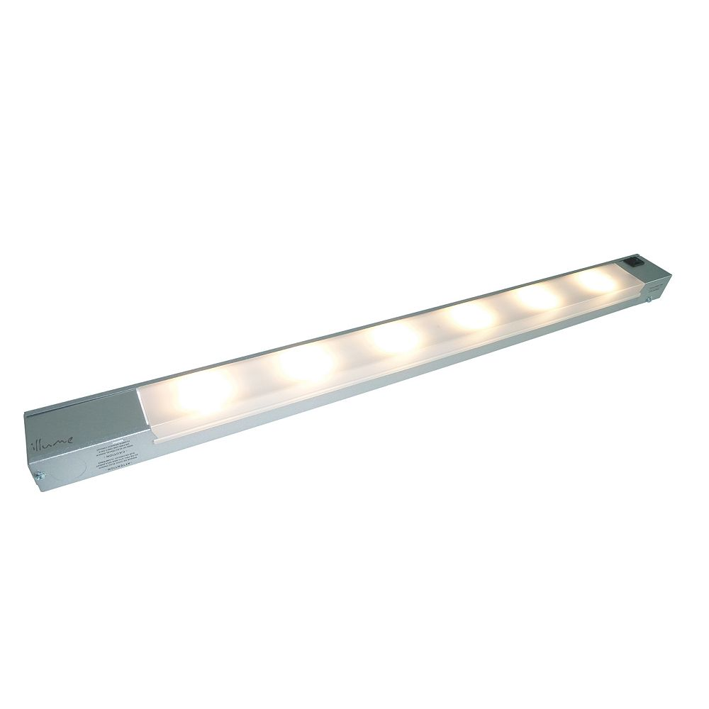 Illume 6 Light LED Linear Dimmable - Satin Painted