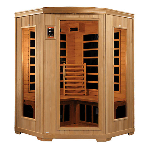 Better Life 6235- 3 Person Corner Infrared Sauna