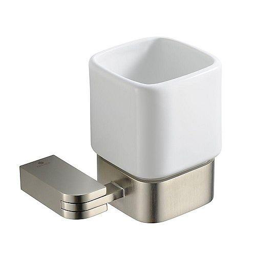 Solido Tumbler Holder - Brushed Nickel