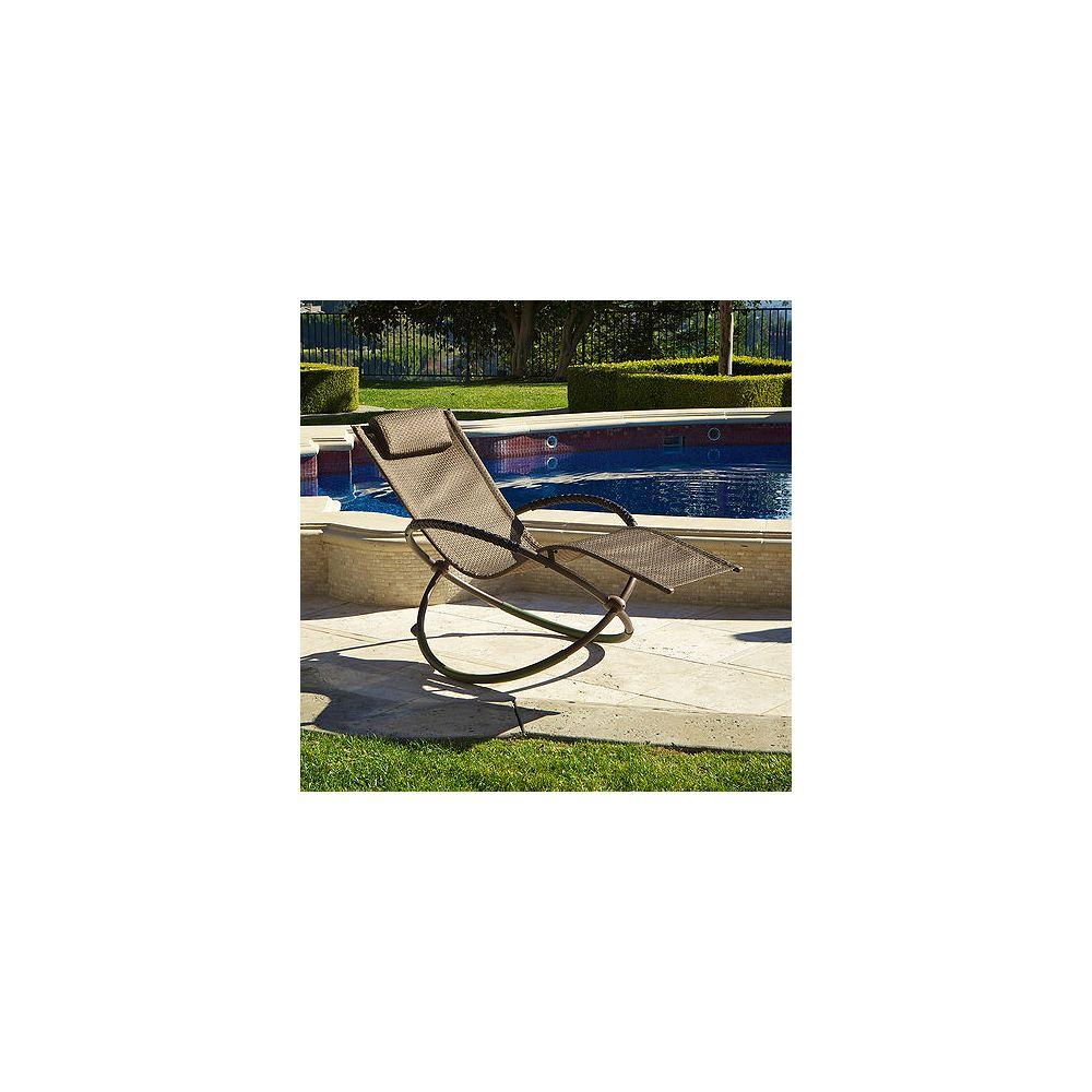RST Living Chaise longue orbitale - Brun