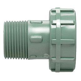 Adaptateur pivotant de 2,5 cm (1 po); vert